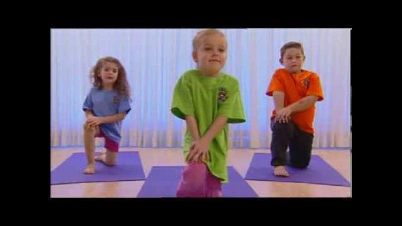 Йога для детей занятие первое