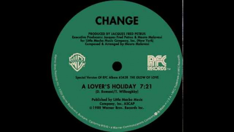 Change A Lover's Holiday extended version