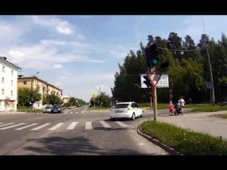 Нарушители ПДД - Снежинск 22 июня 2015