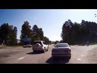 Нарушитель на PRADO - Снежинск 31 мая 2015