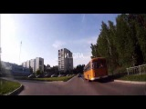 Разделение полос движения для лохов - Снежинск 2 июня 2015