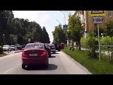Остановка не переходе и выпрыгивание из авто - Снежинск 16 июня 2015