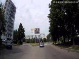 ШОК! На круговом, против движения! Снежинск 3 июня 2015