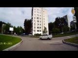 Дедуля отжигает на ВАЗе - Снежинск 25 мая 2015