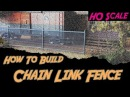 Chain Link Fence Model Railroad Scenery