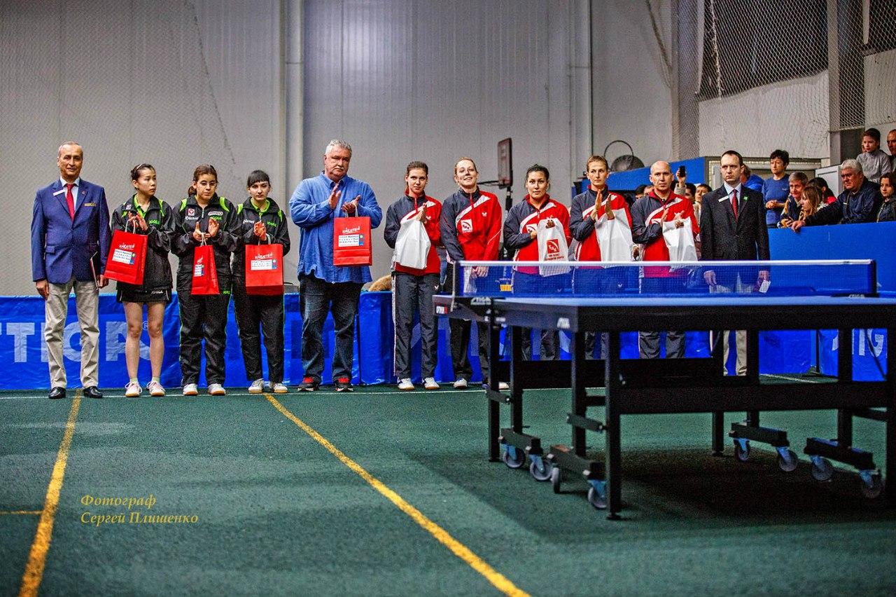 В Таганроге завершился матч 1/4 финала кубка Европы ETTU CAP, таганроженки из ТМК-Тагмет проиграли