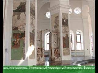 Воскресенскую церковь в Курске продолжают восстанавливать.