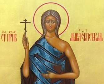 Преподобна Марија Египћанка