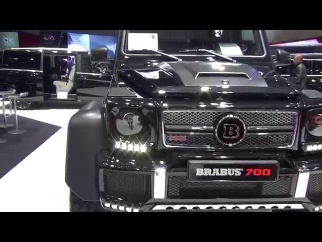Mercedes-Benz G-Class G63 AMG 6x6 Brabus 700
