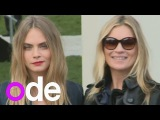 Burberry 2014 Cara Delevingne, Kate Moss, Suki Waterhouse, Jamie Campbell Bower, Cat Deeley
