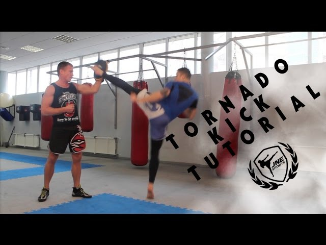 Обучение удара Торнадо - Tornado kick tutorial ''JNE sport » Freewka.com - Смотреть онлайн в хорощем качестве