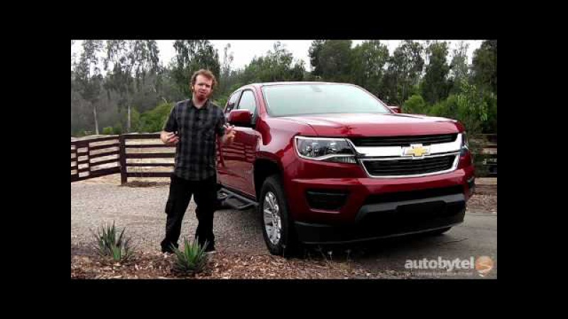 2015 Chevrolet Colorado Mid-Sized Pickup Truck Test Drive Video Review