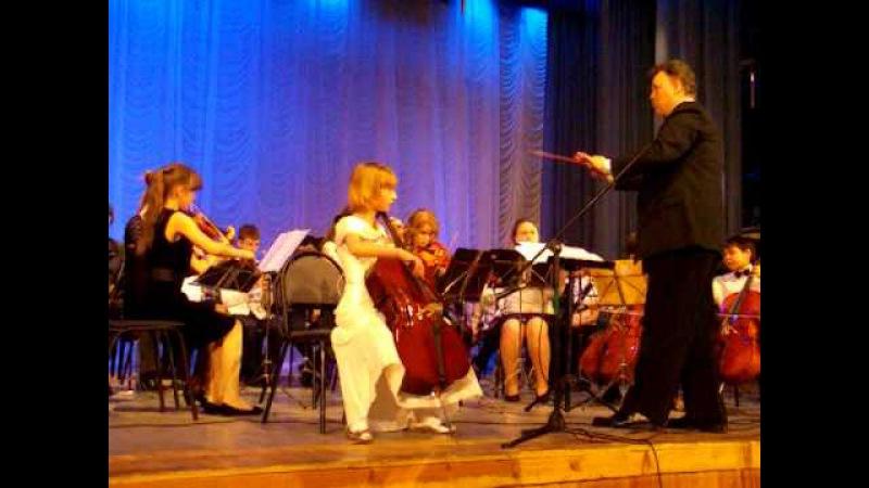А. Вивальди. Концерт C-dur для виолончели с оркестром.
