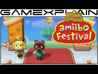 10-Minutes of Animal Crossing: amiibo Festival - Board Game Gameplay & Breakdown (Direct Feed)