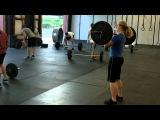 CrossFit WOD Grace in 238 - Brandi Bastain from CrossFit IoTA