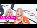[HOT] myB - My Oh My, 마이비 - 심장어택 Show Music core 20150829