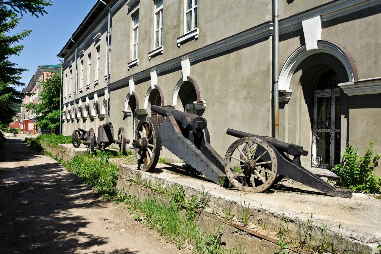 Златоуст. Корпуса Златоустовской оружейной фабрики