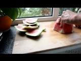 Четыре самых простых способа порезать арбуз