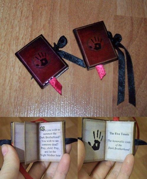 Мини книги своими руками