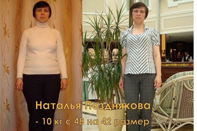 Похудела на раздельном питании отзывы и результаты