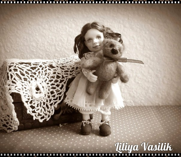 Куколка в викторианском стиле. 9 см (5 фото) - картинка