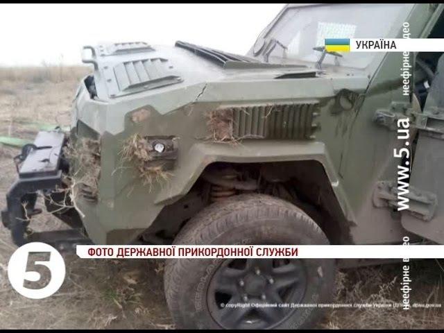 Броньовик з українськими військовими перекинувся на Донеччині є жертви
