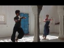Odissi Classical Indian Dance practice at Shakti School of Dance in Rajasthan