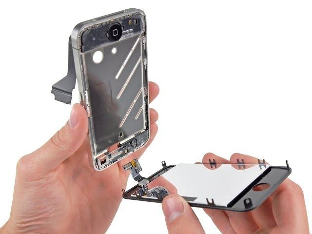 Iphone 4s Разборка и сборка Замена экрана. Как разобрать iPhone 4S. How to disassemble iPhone 4S