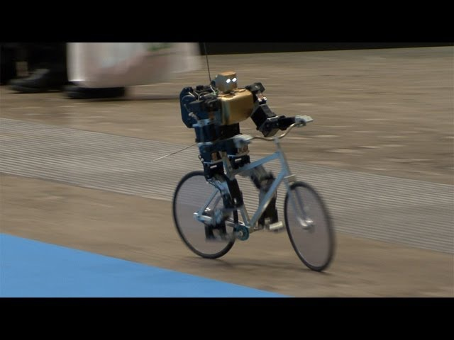 Amazing Bike Riding Robot Can Cycle Balance Steer and Correct Itself DigInfo