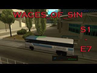 Водитель автобуса - Да АШ довезу [SAMP][S1 Путь бомжа - E7]