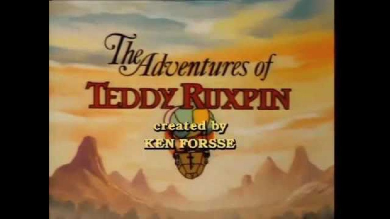 Teddy Ruxpin Cartoon Intro