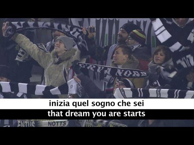 Juventus Theme Song - Storia Di Un Grande Amore - with Lyrics and Translation