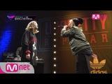 [무삭제] 졸리브이 vs 키썸 1:1 배틀 full ver. 언프리티 랩스타 미공개영상