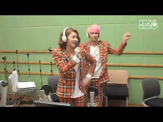 29 апр. 2015 г.[슈퍼주니어의 키스더라디오] MD 정줄놓은 UPDOWN 노래방!