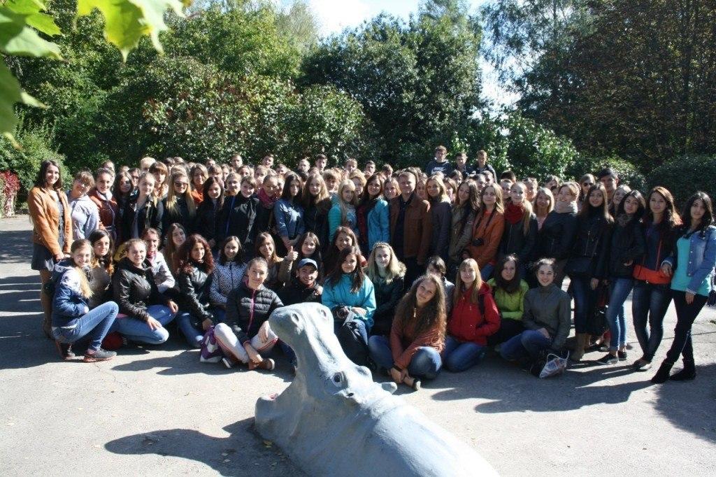 Знайомство з першим курсом ППФ!Похід у зоопарк! 2014