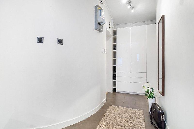 Хорошо спланированная квартира-студия 38 м в Европе.