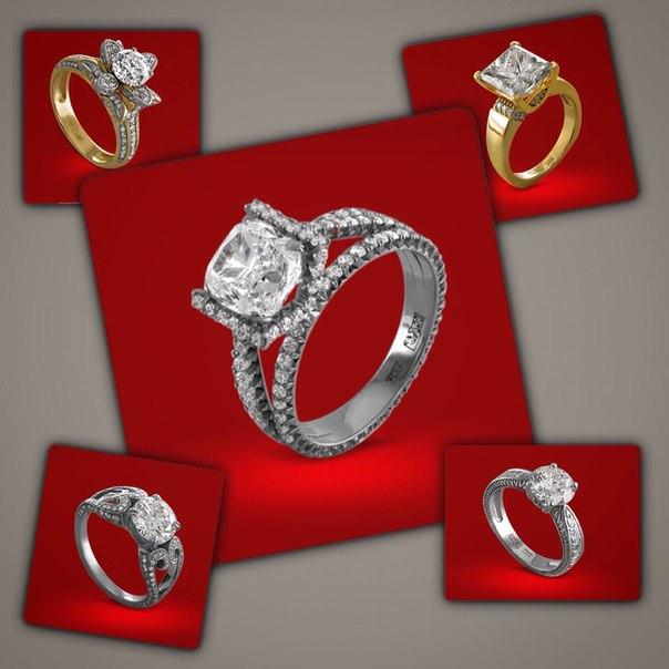 Эксклюзивные кольца с