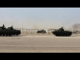 Репетиция парада 2015 главные новинки танк т14 армата сау Коалиция св