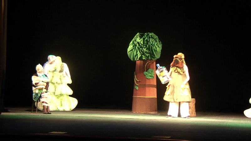 Вспомним-ка))Поздравление женщин театра,с 8 мартом) - 6.03.2015г.