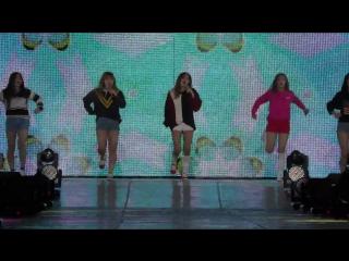 [FANCAM] 151004 Red Velvet - Dumb Dumb at Gangnam K-pop Festival