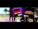 Мистик и Лаггер vs Влад Некст  и Стис. Эпичная Рэп Битва в Майнкрафте 3 сезон!