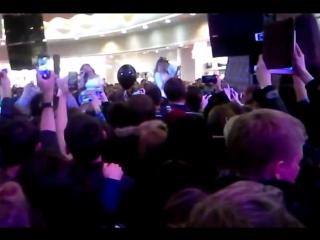 Группа Serebro LIVE  в ТРК Европолис