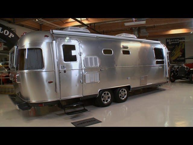 2013 Airstream Land Yacht Concept - Jay Leno's Garage