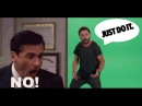 Shia Labeouf Vs Steve Carell - JUST DO IT Vs NO GOD PLEASE NOOOO
