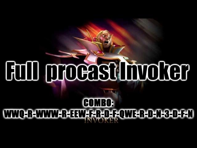 Full procast Invoker/Полный прокаст инвокера:D