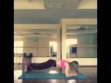 Фитнес с Еленой Никитаевой усложнённая планка