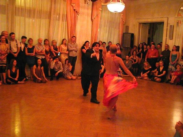 Grand Tango Weekend 2011. Alejandra Mantinan Aoniken Quiroga [5] Chacarera