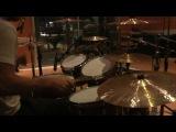 Ska-PunkRock drumming in the studio - Ta Ta Tara - The Chekers