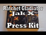 Ratchet Gladiator  Jak X Press Kit Unboxing &amp Review (Playstation 2)