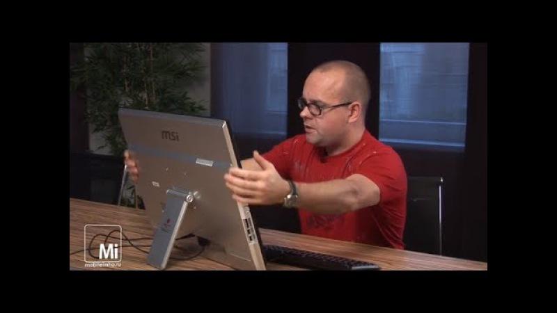 MSI Adora24G. Настольный планшет на 24 дюйма.